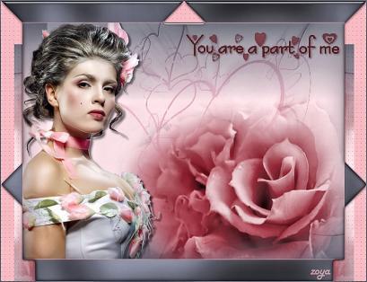 you are a part of me par Zoya