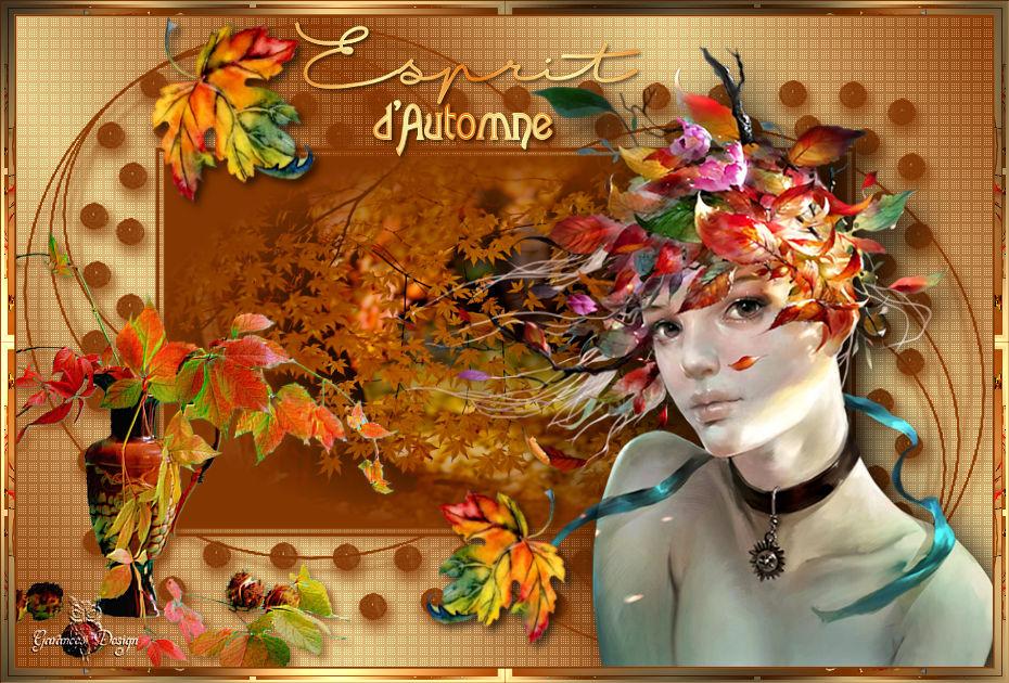 Esprit d automne par garances