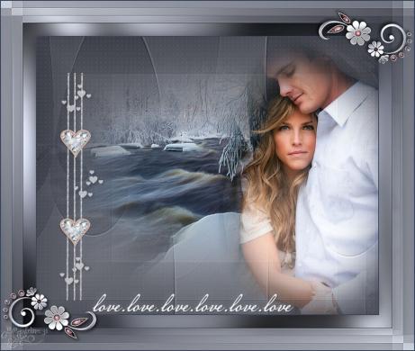 Love love love - carine felinec31 creations