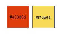 Palette couleurs pour tuto 1