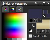 Palette des couleurs 3