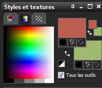 Palette des couleurs 4