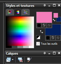 Palette des couleurs 5