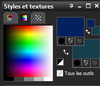 Palette des couleurs 6