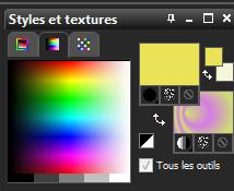 Style et textures